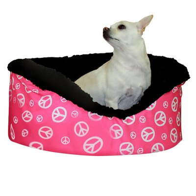 Snoozer Janis Bolster Pet Bed Size: Medium (25 W x 24 D x 10 H)