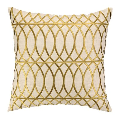 Regina Throw Pillow Color: Citron