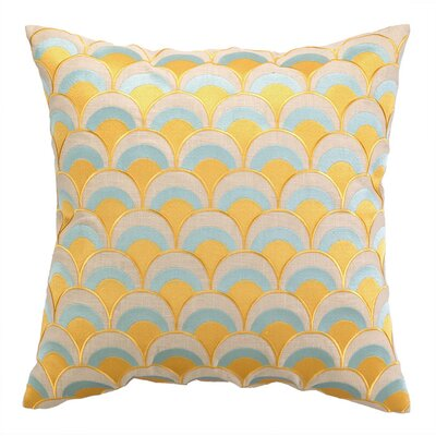 Heather Throw Pillow Color: Sunshine