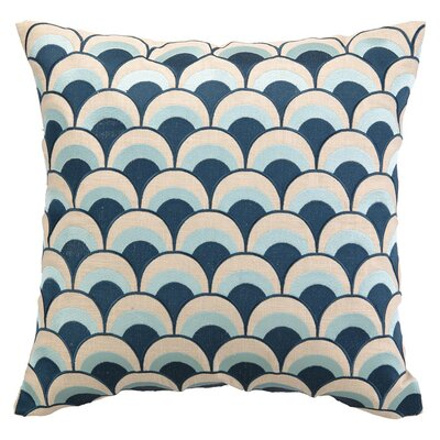 Heather Throw Pillow Color: Navy