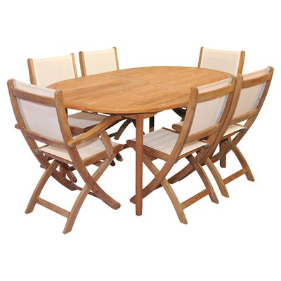 Thompson Indoor/Outdoor 7-Piece Dining Set