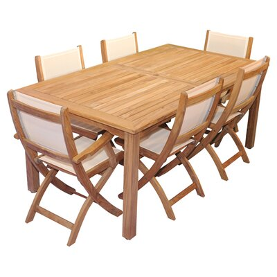 Check out the Indoor Outdoor Dining Set Bloomington - Product picture - 86