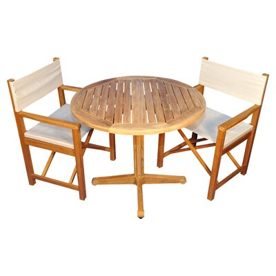 Oxford Indoor/Outdoor 3-Piece Dining Set