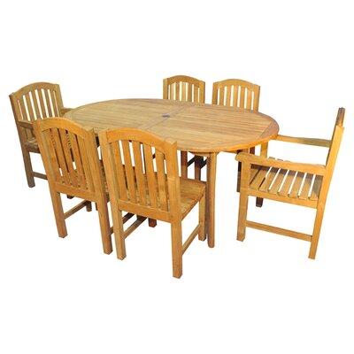 Bueller Indoor/Outdoor 7-Piece Dining Set