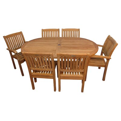 Jackson Indoor/Outdoor 7-Piece Dining Set