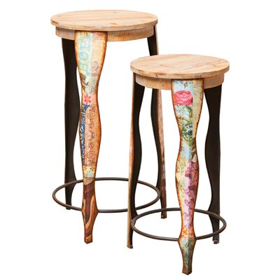 2 Piece Bella Bar Stool Set