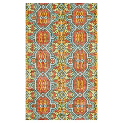 Latika Hand Knotted Wool Aura Area Rug Rug Size: Rectangle 56 x 86