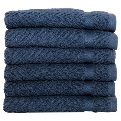 Gloria Washcloth in Midnight