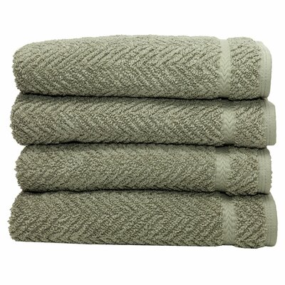 Gloria Hand Towel in Light Olive