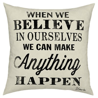 Believe in Ourselves Throw Pillow
