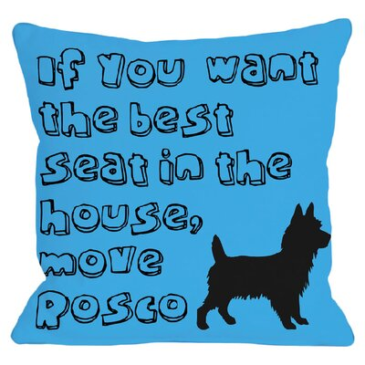 Personalized Move Throw Pillow