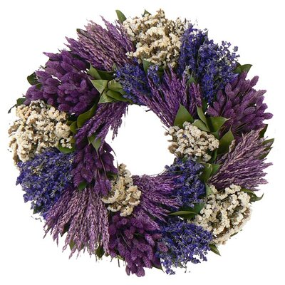 Preserved Patchwork Garden Wreath