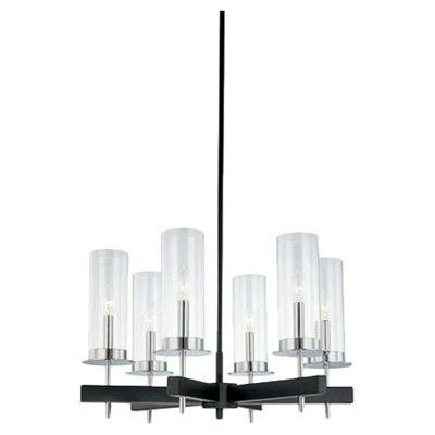 Tuxedo 6-Light Candle-Style Chandelier