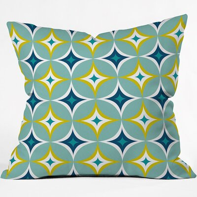 Astral Outdoor Throw Pillow Size: 16 H x 16 W x 4 D