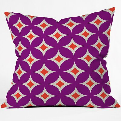 Outdoor Throw Pillow Size: 18 H x 18 W x 4 D