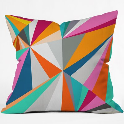 Collins Ave Throw Pillow Size: 18 H x 18 W x 4 D