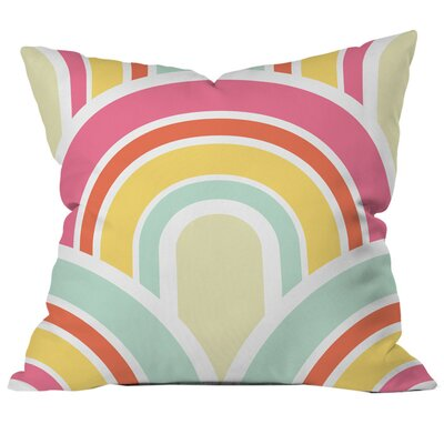 Spumoni Outdoor Throw Pillow