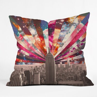 Superstar New York Throw Pillow Size: 20 H x 20 W