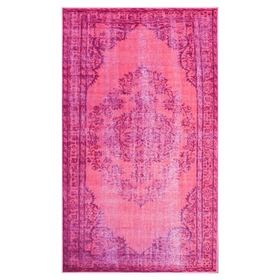 Nielsen Pink Area Rug Rug Size: Rectangle 92 x 125