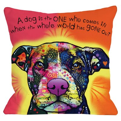 Love a Bull Throw Pillow