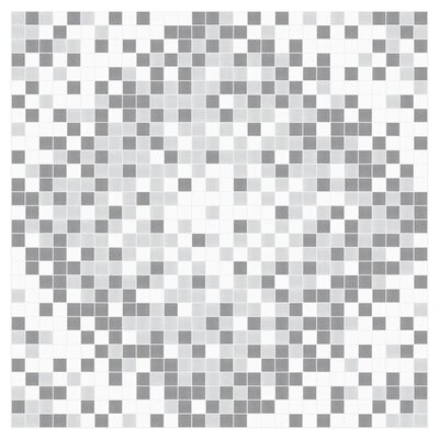 Scatter 24 x 24 Mosaic Tile in Calm Grey