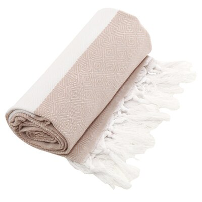 Asha Fouta Towel in Beige