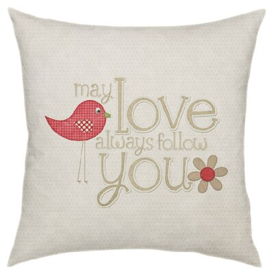 Love Follows You Throw Pillow