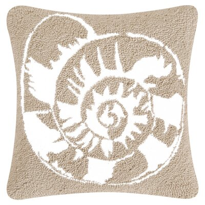 Calypso Shell Throw Pillow