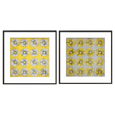 Dandelion Framed Graphic Art 6-1393SET