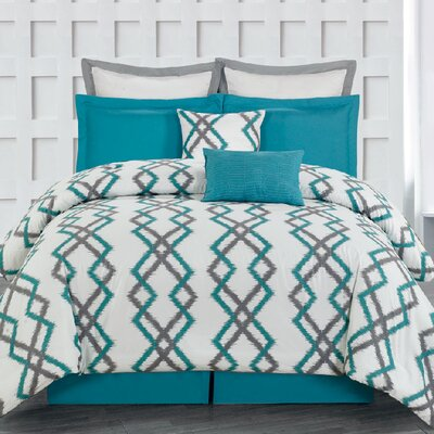 Groh 8 Piece King Comforter Set