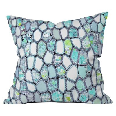Cells Outdoor Throw Pillow