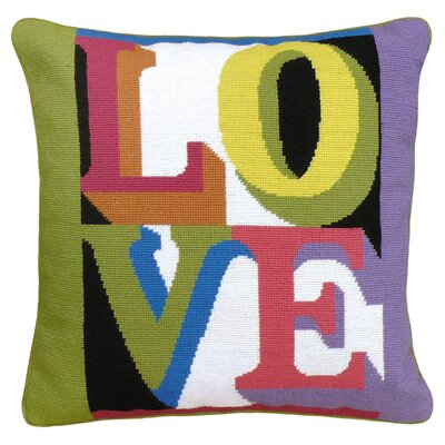 Love Wool Throw Pillow