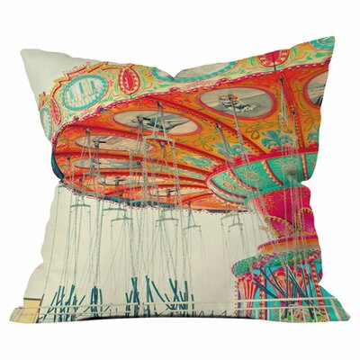 Swinging Outdoor Throw Pillow Size: 16 H x 16 W x 4 D