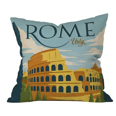 Rome Outdoor Throw Pillow