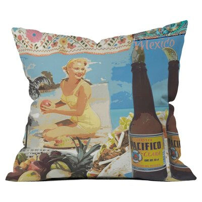 Surfers Dream Outdoor Throw Pillow