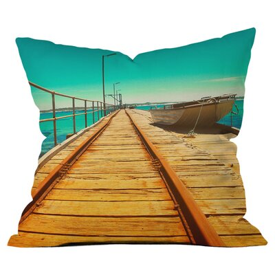 The Jetty Outdoor Throw Pillow