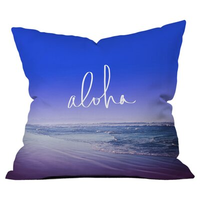 Aloha Beach Outdoor Throw Pillow