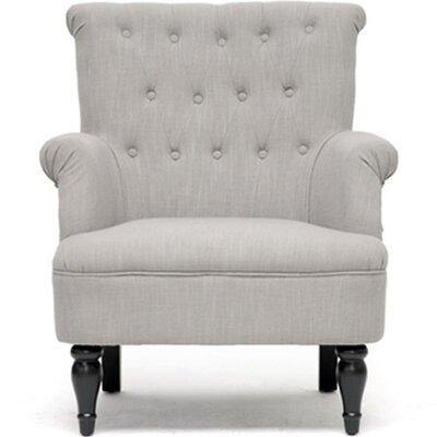 Baxton Studio Crenshaw Tufted Armchair