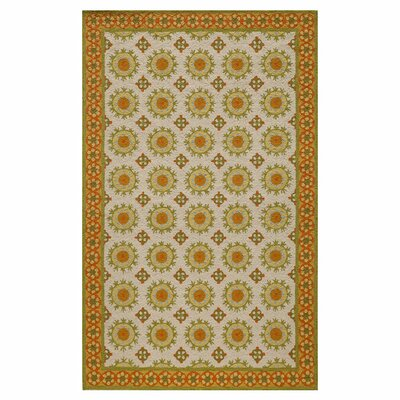 Marlar Hand-Hooked Multicolor Area Rug Size: Rectangle 5' x 8'