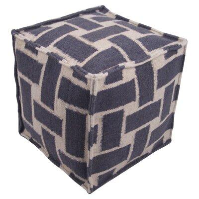 Celina Pouf Ottoman Upholstery: Gray