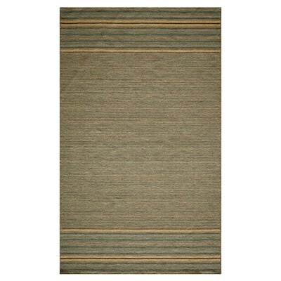 Jameson Hand-Woven Blue/Beige Area Rug Size: Rectangle 5 x 8