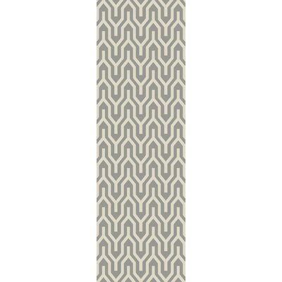 Klein Dove Gray Area Rug Rug Size: Runner 2'6
