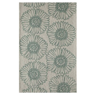 Daphne Hand-Tufted Seafoam Area Rug Size: Runner 23 x 76