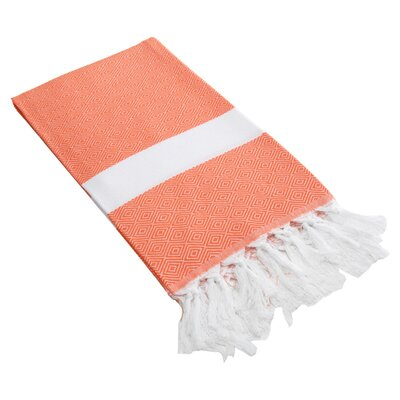 Chloe Fouta Towel in Orange