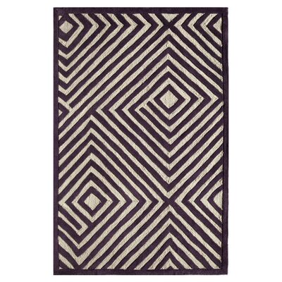Sadie Hand-Tufted Plum Area Rug Size: Runner 23 x 76