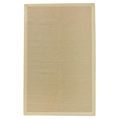 Darcy Beige Area Rug Rug Size: Rectangle 6 x 9