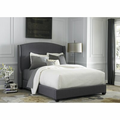 Mason Upholstered Panel Bed Size: King