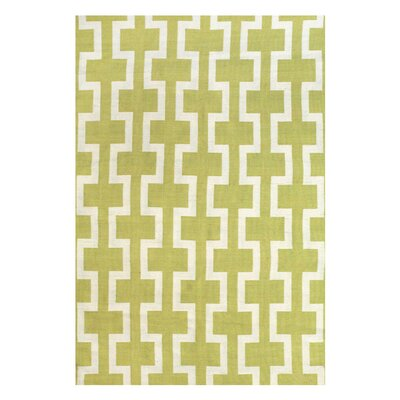 Sargasso Hand Woven Yellow Indoor/Outdoor Area Rug Rug Size: Rectangle 4 x 6