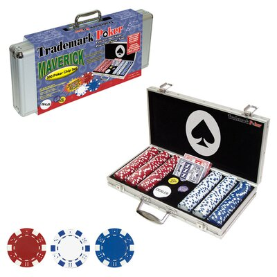 300 Piece Maverick Poker Chip Set 10-1090-300SQL