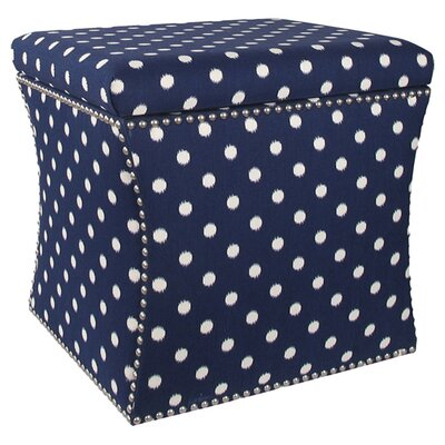 Zoey Upholstered Storage Ottoman